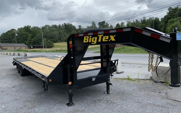 Big Tex 22GN GN,102x 25 +5 Lo Pro,DT,MegaRamps,Black