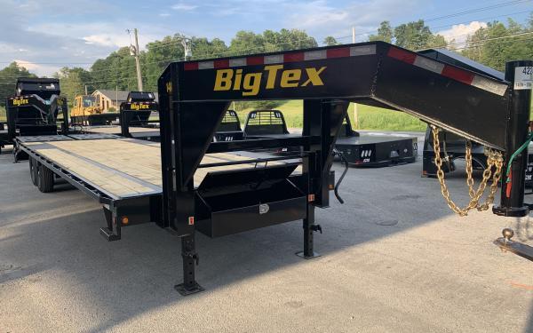 Big Tex 14GN 14,000#,TA,GN,(8 1/2 x 20 +5 Black,5DT with 2-MegaRamps