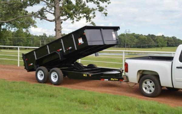 """14LX Big Tex 83""""x14' Tandem Axle Low Profile  Dump"""