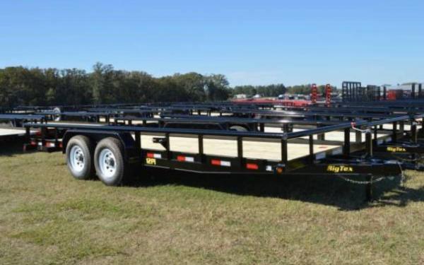2019 Big Tex Heavy Duty Pipe Tandem Axle Trailer