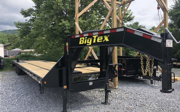 Big Tex 22GN 102 x 35 +5 Lo Pro,DT,2-MegaRamps,Black