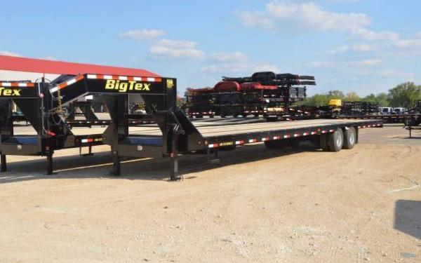Big Tex 25GN Heavy Duty Dual Axle Gooseneck