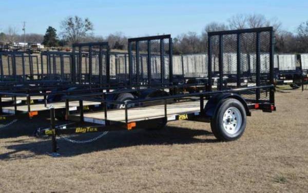 2019 Big Tex 29SA  Single Axle Utility Trailer