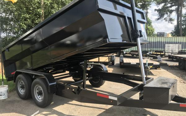 2021 Vision 14k Dump Trailer 7x14- 3' sides OUT OF STOCK