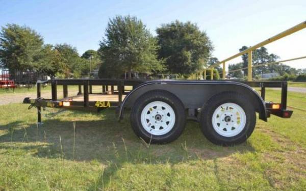 2019 Big Tex 45LA Tandem Axle Utility Trailer