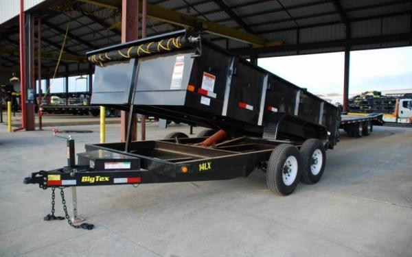Tandem Axle Low Profile Extra Wide Dump