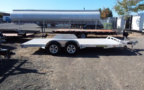 Aluma E 8216 Aluminum Flatbed Trailer