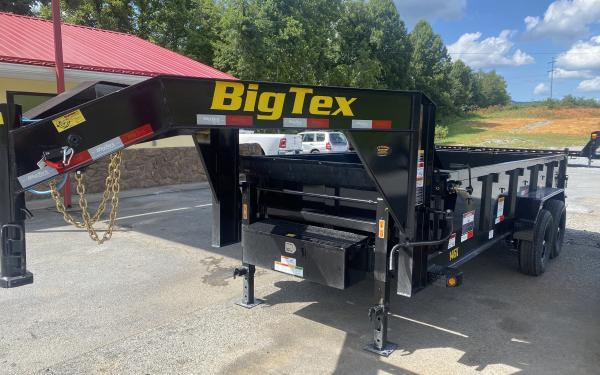 Big Tex 14GX GOOSENECK DUMP 7'x16 6SIR, 15.9K