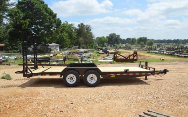Tandem Axle Equipment Trailer