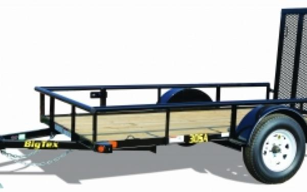 NEW 2017 Big Tex 30SA-10  3' x 10' Single Axle Utility Trailer