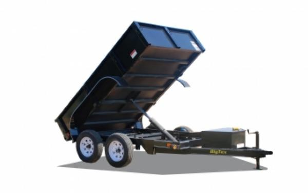 NEW 2017 Big Tex 70SR-10  Tandem Axle Single Ram Dump