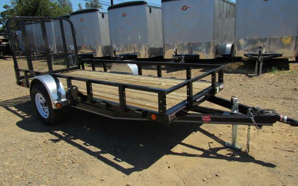 PJ Trailers 6.5'x12' Single Axle Utility Trailer 1230 S1 k1