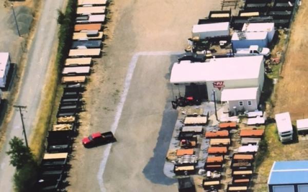PJ Trailers 5'x8'  Dump Trailer