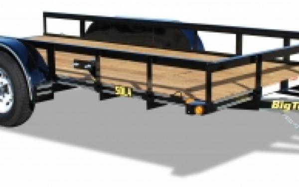 NEW 2017 Big Tex  50LA-16 Tandem Axle Utility Trailer