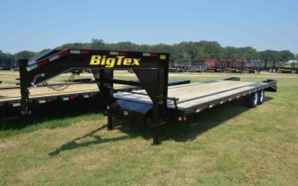 Big Tex 14GN 25'+ 5' Mega Ramps Gooseneck Trailer