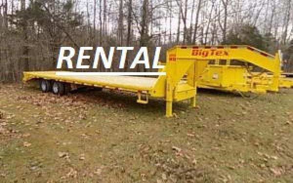 ***RENTAL***Big Tex 22GN-25+5 Mega Ramp Gooseneck Trailer for Rent