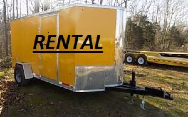 ***RENTAL*** Look 6x12 Cargo Trailer for Rent