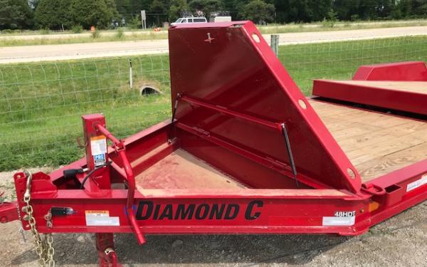 2021 Diamond C HDT Extreme Partial Tilt Bed