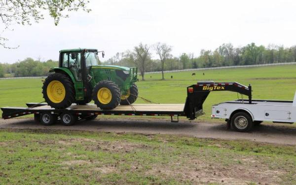 Big Tex 22GN25'+5'Reg Ramps Gooseneck Trailer