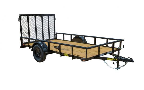 "Big Tex 35SA (77"" X 14') Single Axle Utility Trailer"