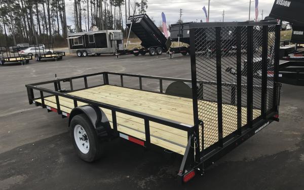 6X14 Anderson mfg Utility trailer single axle