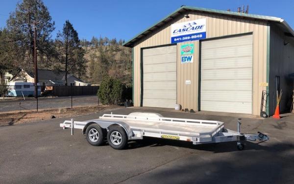 Aluma E 7816TA-EL-R-TR-RTD Aluminum Deck Utility Trailer