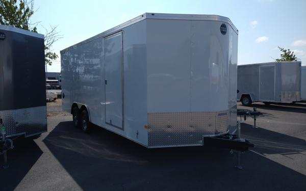 Wells Cargo E RFV8520T2 Road Front V-Force Auto Trailer