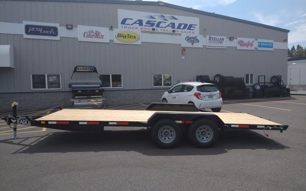 Eagle E EFB720TA3 Tandem Axle Flatbed Trailer  10k