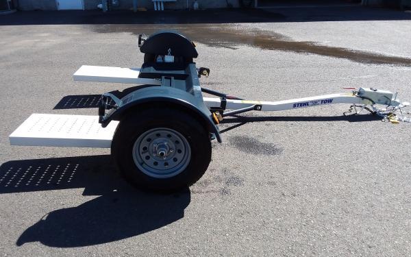 Stehl B ST80TD Tow Dolly Car Hauler w/ Hydraulic Surge Breaks