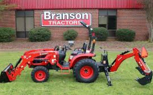 Branson 2610 w/loader and backhoe