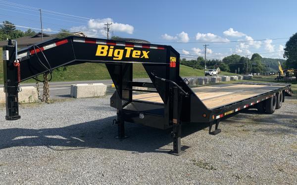 Big Tex 25GN 25,900#,TD,GN,102 x 35 +5 MegaRamps 14PLY tires