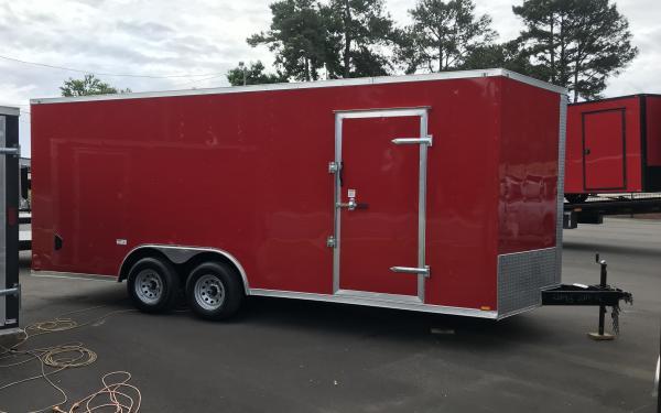 8.5x20 - Red - Advanced Series - BARN DOORS