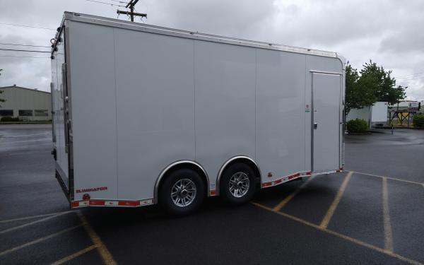 Cargo Mate EL8518TA5 Heavy Duty Enclosed Cargo Trailer