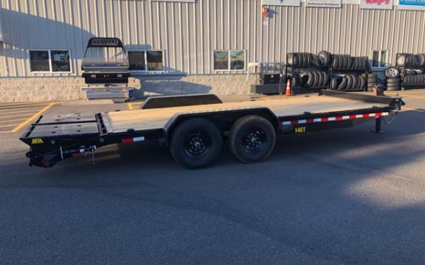 Big Tex E 14ET-20B-MR Super Duty Tandem Axle Equipment Trailer