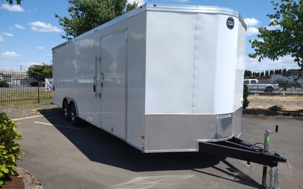 Wells Cargo REV8524TA3 Enclosed Race trailer