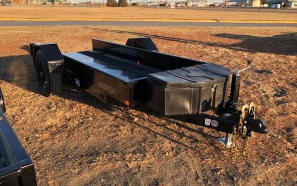 MIDSOTA SL 52''X12' 7K SCISSOR LIFT EQUIPMENT TRAILER