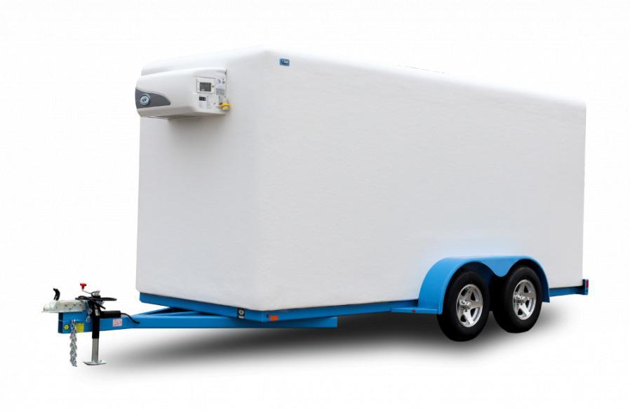 Polar King 6x16 Freezer Trailer
