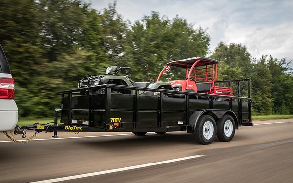 """70TV 83""""X 14' Big Tex Tandem Axle Vanguard"""