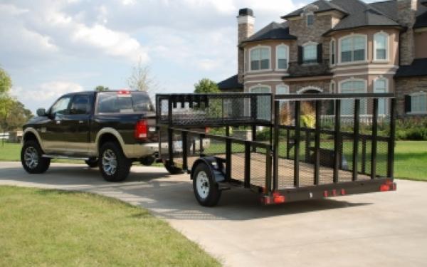 Big Tex 35LS-12' Single Axle Landscape Trailer