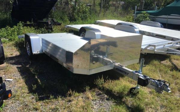 "ALUMA 82"" X 14' Aluminum Heavy Tilt Utility Trailer"