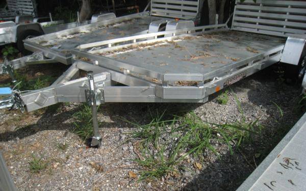 """ALUMA 78"""" X 14 SA UTLITY TRAILER 7814S BI FOLD TAIL-GATE"""