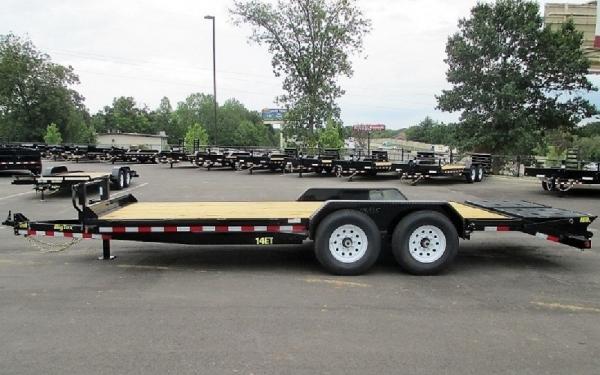 """14ET-83"""" x 20 Tandem Axle Equipment Trailer"""