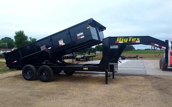Big Tex 14GX,(7 x 14) Black POWER UP & DN