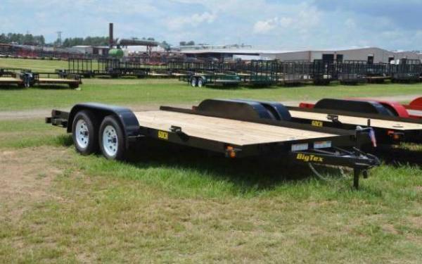 Big Tex Tandem Axle Car Hauler