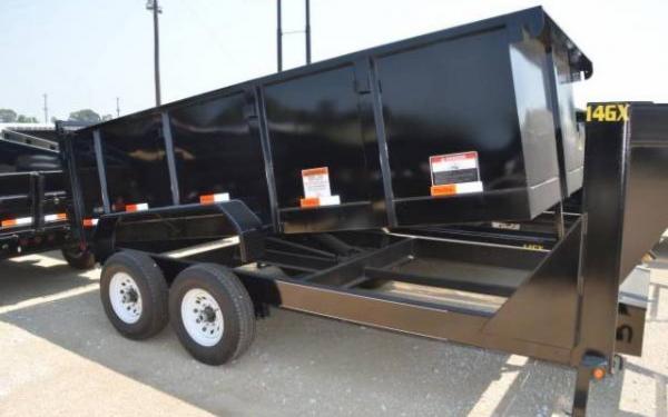 Big Tex Low Profile Extra Wide Dump