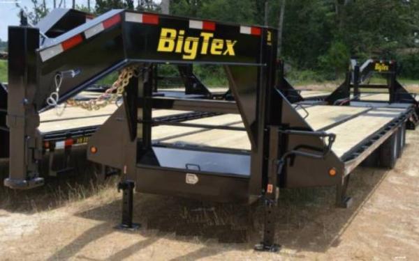 Big Tex Tandem Axle Gooseneck Trailer