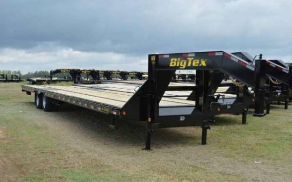 Big Tex Tandem Dual Gooseneck Trailer