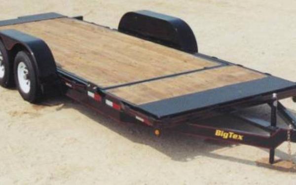 Big Tex Pro Series Tilt Bed Trailer