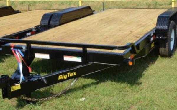 Big Tex Tandem Axle Equipment Trailer
