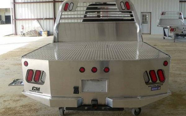 """11'4"""" SK CM Aluminum Model Truck Bed"""